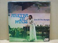 Aretha Franklin - Aretha In Paris - LP - 33 RPM - ATLANTIC 1968