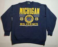 Vintage University of Michigan Sweatshirt XL Wolverines Crewneck American Eagle