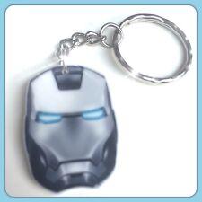 Iron Man Mask Theme Handmade Keyring Bag Charm For Gift Christmas #30