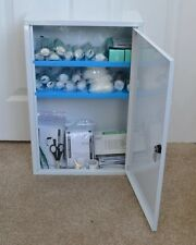 Metal Wall Mounted First Aid Cabinet + Small Size First Aid Kit