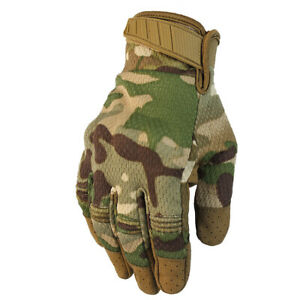 Tactical sports touch screen gloves mountain bike riding breathable gloves