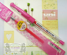 5 pen 3refills Uni-Ball UM-151 0.38 roller ball pen gel ink PINK