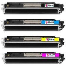 4 X Toners Compatible CON Hp CF350A CF351A CF352A Cf353A Hp130A Pro M177 FW