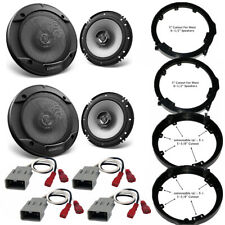 Front / Rear Speaker Adapters + Harness For Select Honda and Acura Vehicles (Fits: Acura)