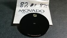 Movado Museum Dial 87.A2 875 25.90mm diameter black Swiss Made