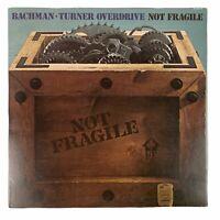 "Bachman Turner Overdrive  - ""Not Fragile"" - (1974,LP)  SRM-1-1004"