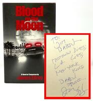 James Ellroy - Blood on Moon - SIGNED 1st 1st - 1986 - Author LA Confidential