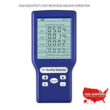 Carbon Dioxide Detector CO2 ppm Meters Gas Analyzer Air Quality Tester USA STOCK