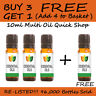 10ml Essential Oil Pure & Natural Aromatherapy - Choose from 60 Oils