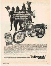 1968 Kawasaki Avenger 350 Motorcycle Vtg Print Ad