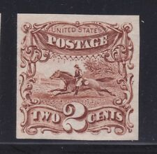 1869 Pictorial issue #113P3 proof on Indian paper, no hinge