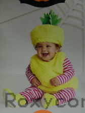 25148263f Halloween Infant Hyde and EEK Infant Yellow Pineapple Costume Size 0-6  months