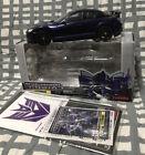 Transformers Takara Binaltech LaserWave BT-08 1:24 Mazda RX-8 Purple Die Cast