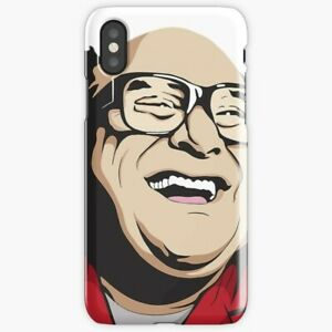 Danny Devito V2 iPhone Case X 6 7 S 8 Plus, Off White iPhone Case
