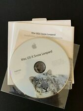 Mac OS X Snow Leopard Disc 10.6.3 Software Installation DVD - FREE S&H