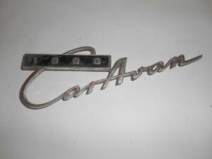 Vintage Script Badge For Opel Kadett Caravan 1000 used