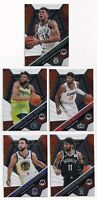 2019-20 Panini Mosaic Will to Win 5 Card Lot Curry Giannis Antetokounmpo Kyrie