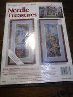 "NEEDLE TREASURES ColorArt Counted Cross Stitch Kit - ROSE COLONNADE 10"" x 20"" Ea"