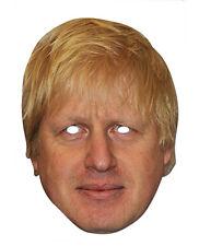 Boris Johnson 2D Fête Carte Déguisement Masque Conservateur Homme politique