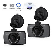 2x  Car DVR CCTV Dash Camera Recorder G-sensor Night Vision Full HD 1080P Video