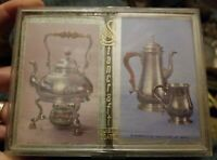 vintage Minneapolis Institute of Arts Stancraft playing cards coffee pot tea pot