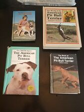 American Pit Bull Terrier Books by: Richard F. Stratton (Lot of 4)