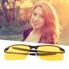 Yellow HD Night Vision Polarized Glasses UV400 Driving Sunglasses Eyewear#EG