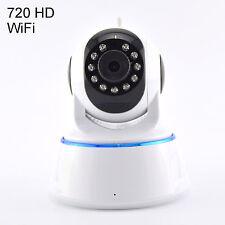 Wireless WiFi 720P Security Network Camera Indoor Pan Tilt Night Vision Webcam
