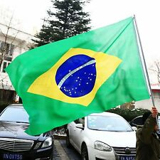 Brazil National Country Flag 3x 5 feet polyester Big Banner flag Olympic Games