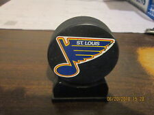 NHL St.Louis Blues Rivermen SGA Vintage 1980's Grayboy Kawasaki Logo Hockey Puck