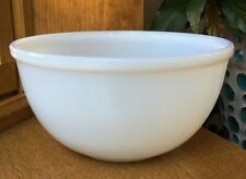 """Vintage Fire King Oven Ware Plain White Nesting Mixing Bowl  7.25"""" Replacement"""