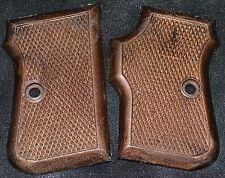 FIE Titan 25 ACP pistol grips dark brown plastic
