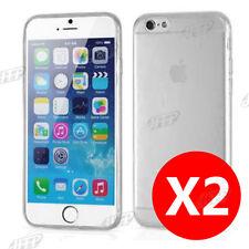 Buy 1 get 1 Free Ultra Slim Grey iPhone 6Plus / 6s Plus Gel Case Cover for Apple