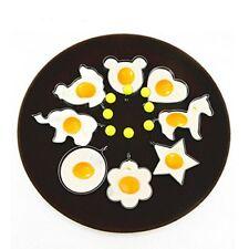 8PC Stainless Steel Fried Egg Molds Rings Egg Pancake Maker Cooking Tool