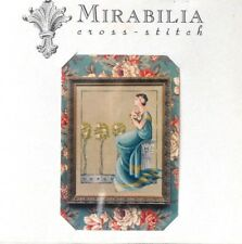 """MIRABILIA HARD TO FIND """"DAMASK ROSES"""" COUNTED CROSS STITCH CHART - NIP!"""