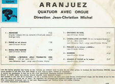 "33 tours Jean Christian MICHEL Disque LP 12"" ARANJUEZ Orgue RIVIERA 521041 EX"