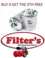 FUEL FILTER JEEP COMMANDER XH TURBO DIESEL 3.0L V6 OM642 MPFI DOHC 24V 06-10