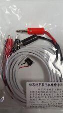 Apple Iphone 4 4s 5 5s 5c 6 6 Plus Cable de diagnóstico de prueba de línea de alimentación dedicada