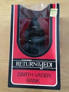 Star Wars Return of the Jedi Darth Vader Bank Vintage 1983