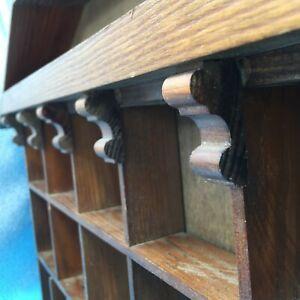 Vintage Floating Shelf Wall Mount Bookshelf Rack Height Adjustable MCM