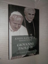 GIOVANNI PAOLO II Joseph Ratzinger Benedetto XVI San Paolo 2007 religione libro