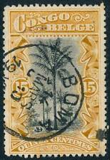 1909 Belgian Congo Stamp, #43, used Boma Cds