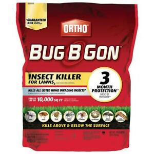 Ortho 10 lb. Bug-B-Gon Max Insect Killer for Lawns 🦾