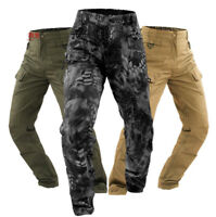 Unisex Camo Ripstop Army Military Patrol Work Trousers Combat Tactical Pants HOT