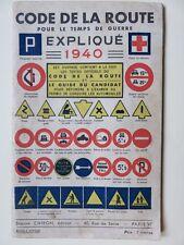 085 - Code de la route expliqué pour le temps de guerre 1940