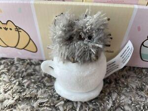 Gund Pusheen Blind Box PIP in CUP Catfe Series 16 Opened Plush Cat