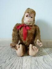 Old Gorilla monkey Steiff Lenci Doll 40s felt cloth and straw inside ultra rare