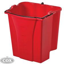 Rubbermaid WaveBrake Dirty Water Bucket Separates clean & dirty water