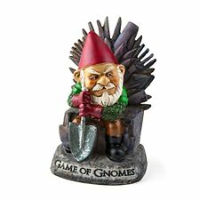 """BigMouth Inc """"Game of Gnomes"""" Garden Gnome Statues, New, Free Shipping"""