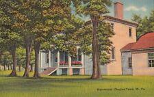 Postcard Harewood Charles Town West Virginia